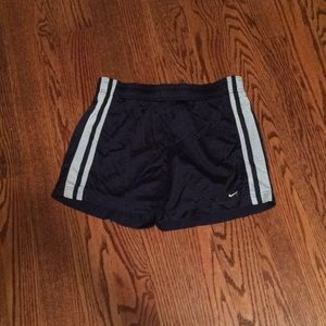 NIKE Navy Athletic Shorts M
